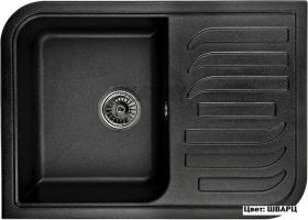 Мойка кухонная GRANULA GR-7001 оборачиваемая (ШВАРЦ)
