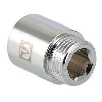 Удлинитель латунный,хромированный,под шестигранный ключ,BP-HP Valtec