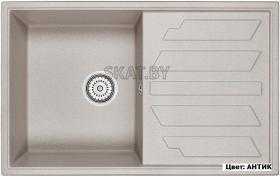 Мойка кухонная GRANULA GR-8002 оборачиваемая (АНТИК)