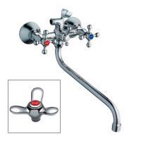 FRAP F 2212 (смеситель хромированный для ванны излив 7130S переключение душ)