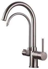 GAPPO G4398-10 (сатин.смеситель для кухни с подключением фильтра для питьевой воды)