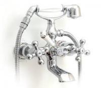 GAPPO G3265 (смеситель хромированный для ванны рисунок-керамика)