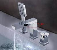 GAPPO G1139 (излив является переключателем на лейку, смеситель для ванны ф35)