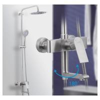 GAPPO G2499-20 (душевая система излив является переключателем на лейку или верхний душ из нержавеющей стали)