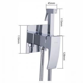 GAPPO G7207-1 (встроенный гигиенический душ хромированный)