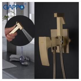 GAPPO G7207-4 (бронза встроенный гигиенический душ хромированный)