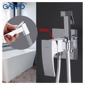 GAPPO G7207-8 ( встроенный гигиенический душ белый/хром)