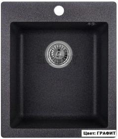 Мойка кухонная GRANULA GR-4201 (ГРАФИТ)
