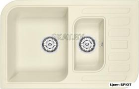 Мойка кухонная GRANULA GR-7803 оборачиваемая (БРЮТ)