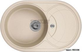 Мойка кухонная GRANULA GR-7801 оборачиваемая (ПЕСОК)