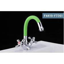 FRAP F7261 (31 см гибкий излив зеленый)  (комбинируется со смесителями Frap F4425, F4424, F4419)