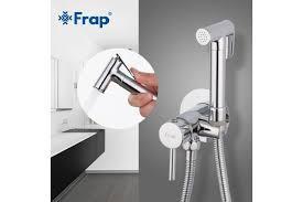 FRAP F7505-2 (гигиенический душ со смесителем хромированный)