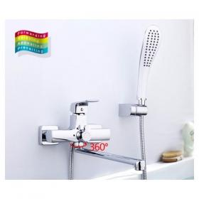 GAPPO G2250-8 (смеситель для ванны ф35 излив 35 см)