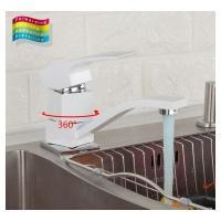 GAPPO G4507-7 (смеситель белый хромированный для кухни)