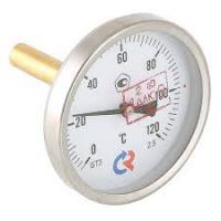 Термометр с осевым подключением и погружной гильзой 1/2