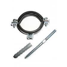 ктр (кронштейн стальной с резиновым уплотнением )