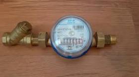 Счетчик воды ВИР-М СХВ ДУ 15   с монтажным комплектом