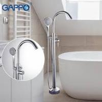 GAPPO G3098 (смеситель напольный для ванны хромированный)