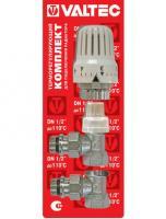 Комплект терморегулирующий угловой VT.045 Valtec